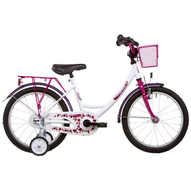 "Vélo Enfant VERMONT GIRLY 16"" Blanc/Rose 2019"